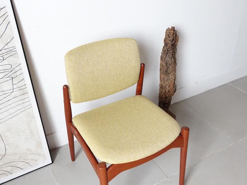 Model Captain Dining chair by Erik Buch for Ørum Møbelfabrik