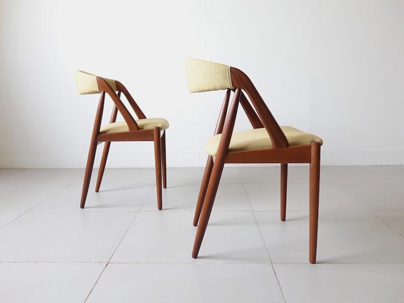 NV31 Dining Chairs by Kai Kristiansen for Schou Andersen Møbelfabrik
