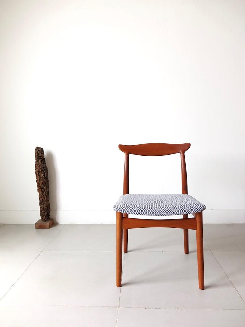 Model.112 Dining chair by Erik Wørts for Vamo møbelfabrik