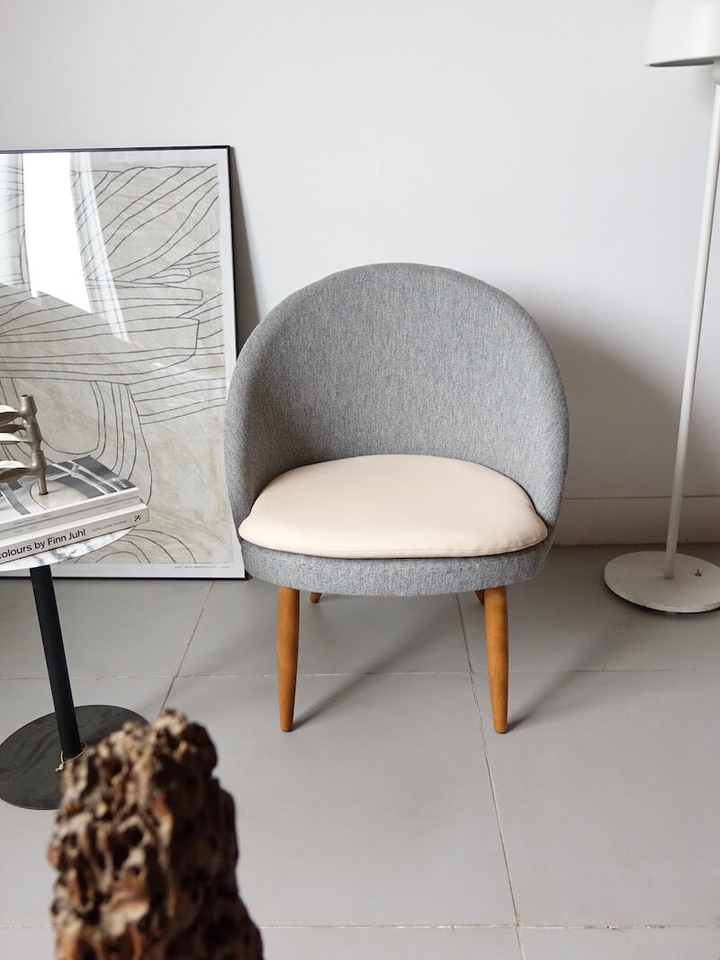 """""""Model.301"""" easy chair by Ejvind A.Johansson for Godtfred H.Petersen"""