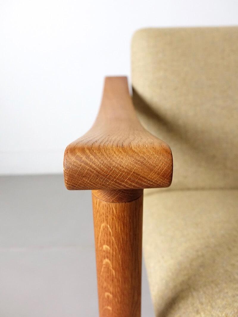 GE280 Easy chair by Hans J. Wagner for GETAMA