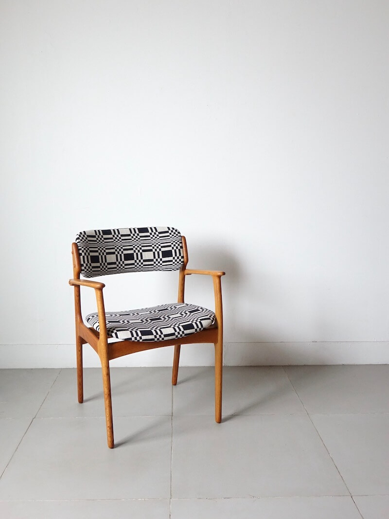 Model.50 Armchair by Erik Buch for O.D.Møbler / Doris