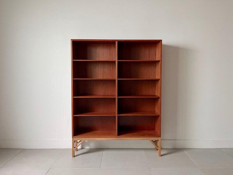 Bookcase by Borge Mogensen for FDB in teak/oak