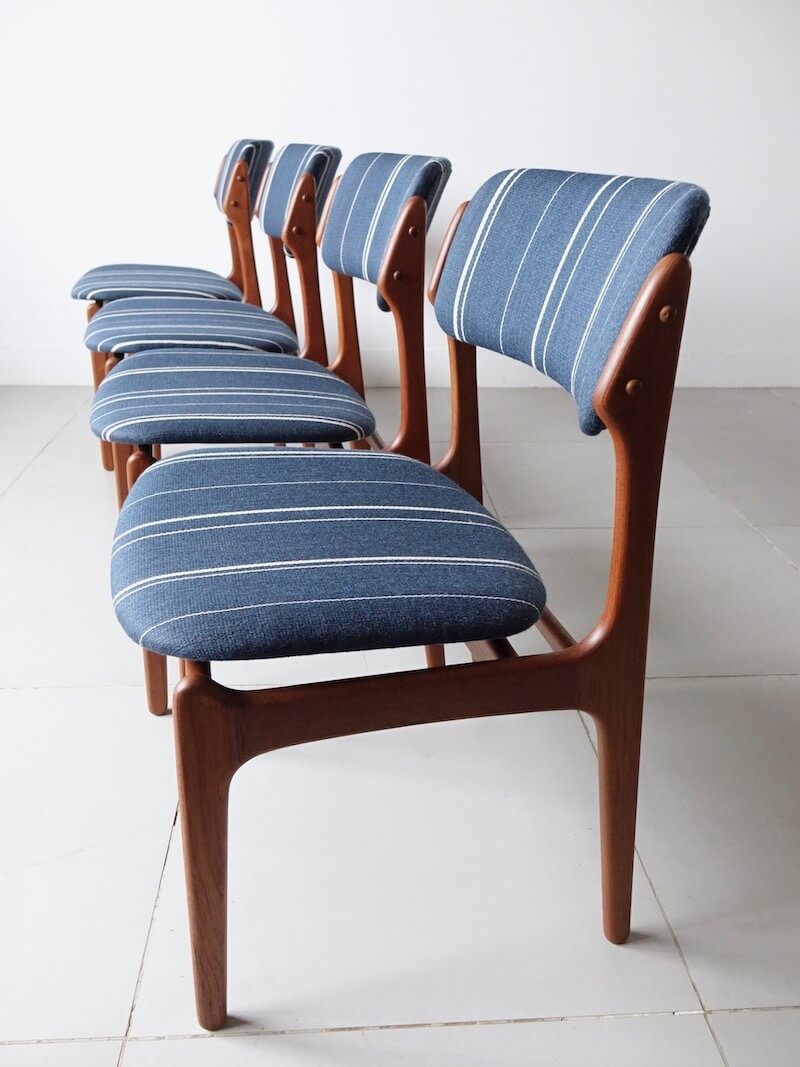 Dining chairs Model.49 by Erik Buch for O.D.Møbler / エリックバック ダイニングチェア
