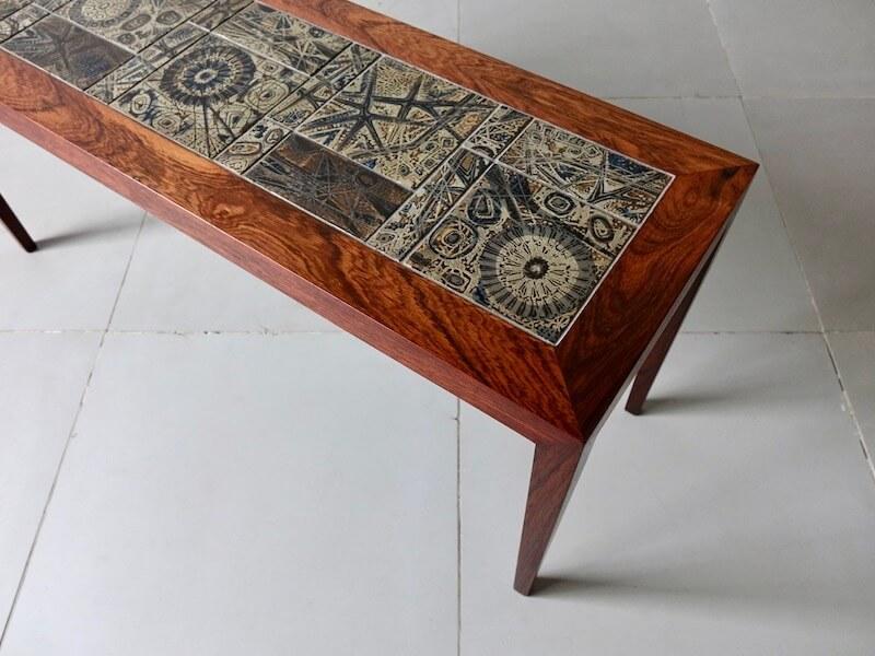 Coffee table by Haslev Royal Copenhagen