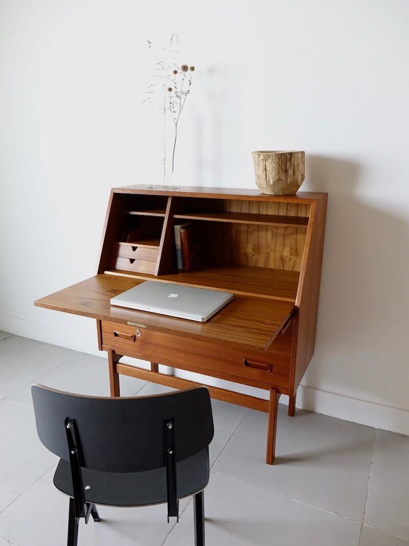 Writing bureau by Arne Wahl Iversen for Vinde Møbelfabrik