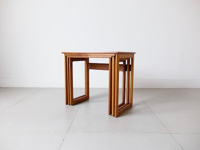 Nesting Table by Arne Wahl Iversen for Anton Kildebergs Møbelfabrik