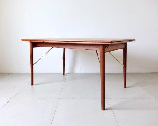 Dining table Peter Hvidt & Orla Molgaard Nielsen for Soborg Mobelfabrik