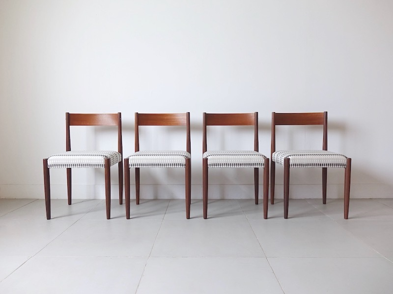 Dining Chairs by Poul M. Volther for Frem Røjle