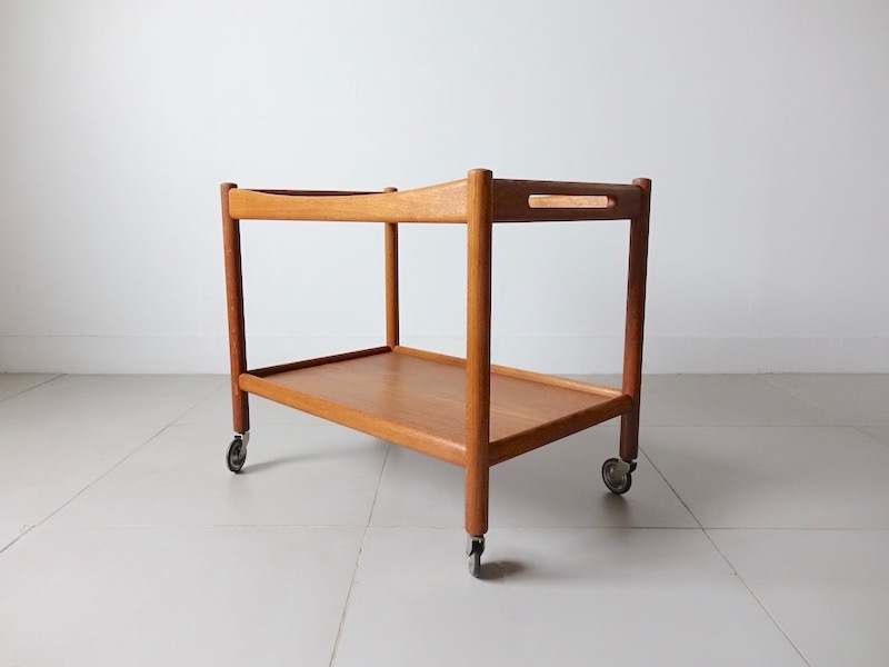 AT45 Trolley table by Hans J. Wegner for Andreas Tuck