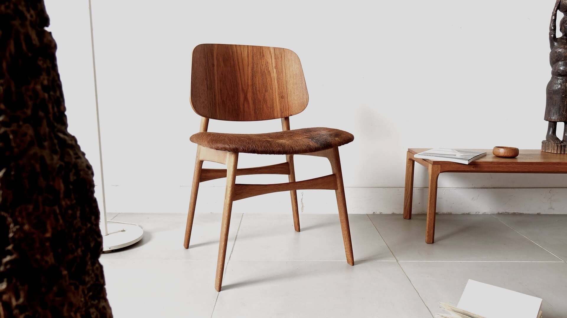 """Model155"" chair by Borge Mogensen"