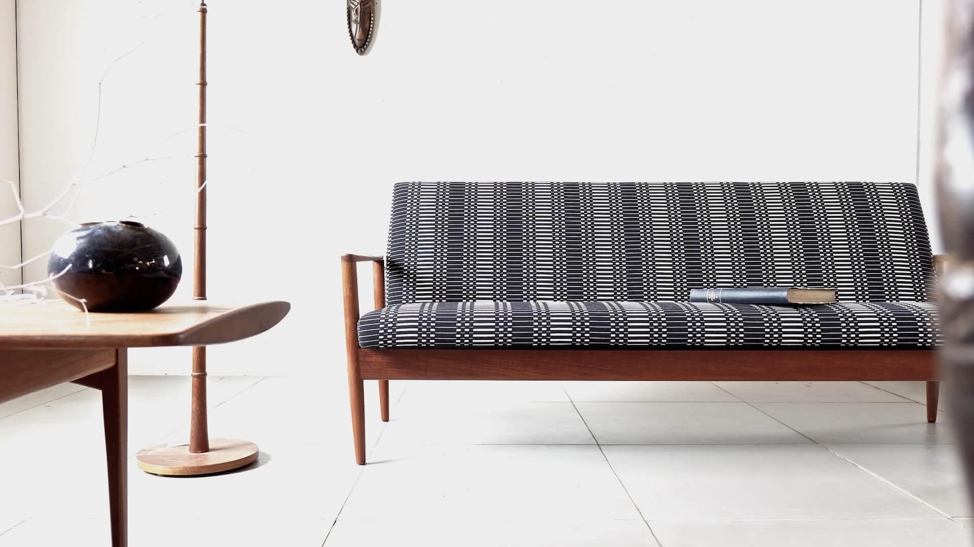 Anonymous sofa with Johanna Gullichsen/ Helios