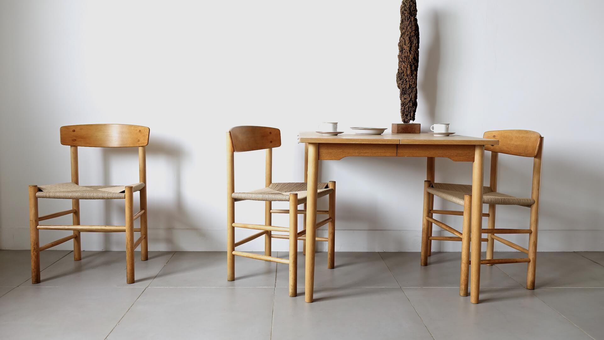 """J39"" Shaker chairs by Borge Mogensen"