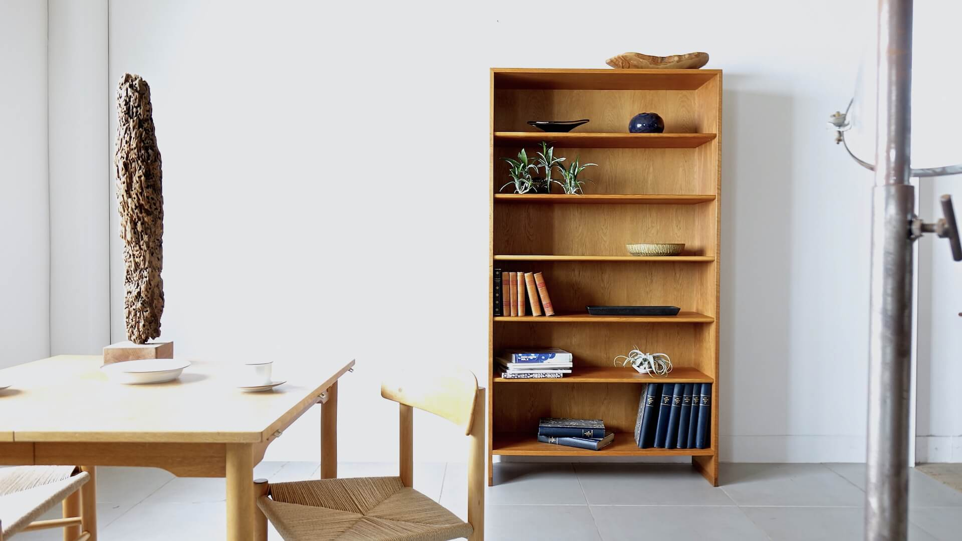 """RY8"" Bookshelf by Hans J. Wegner"