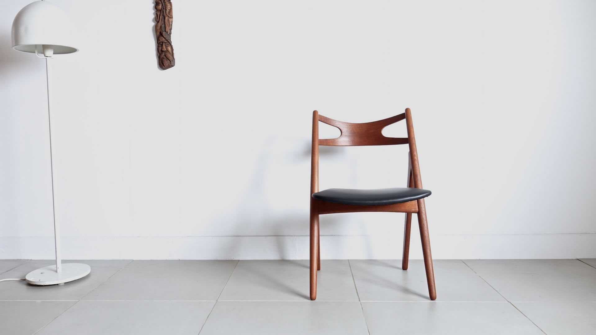 """CH29"" Sawbuck chair by Hans J. Wegner"