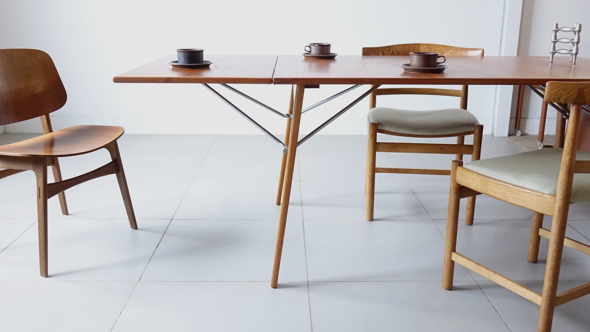 "Dining table ""Model.162"" by Borge Mogensen"
