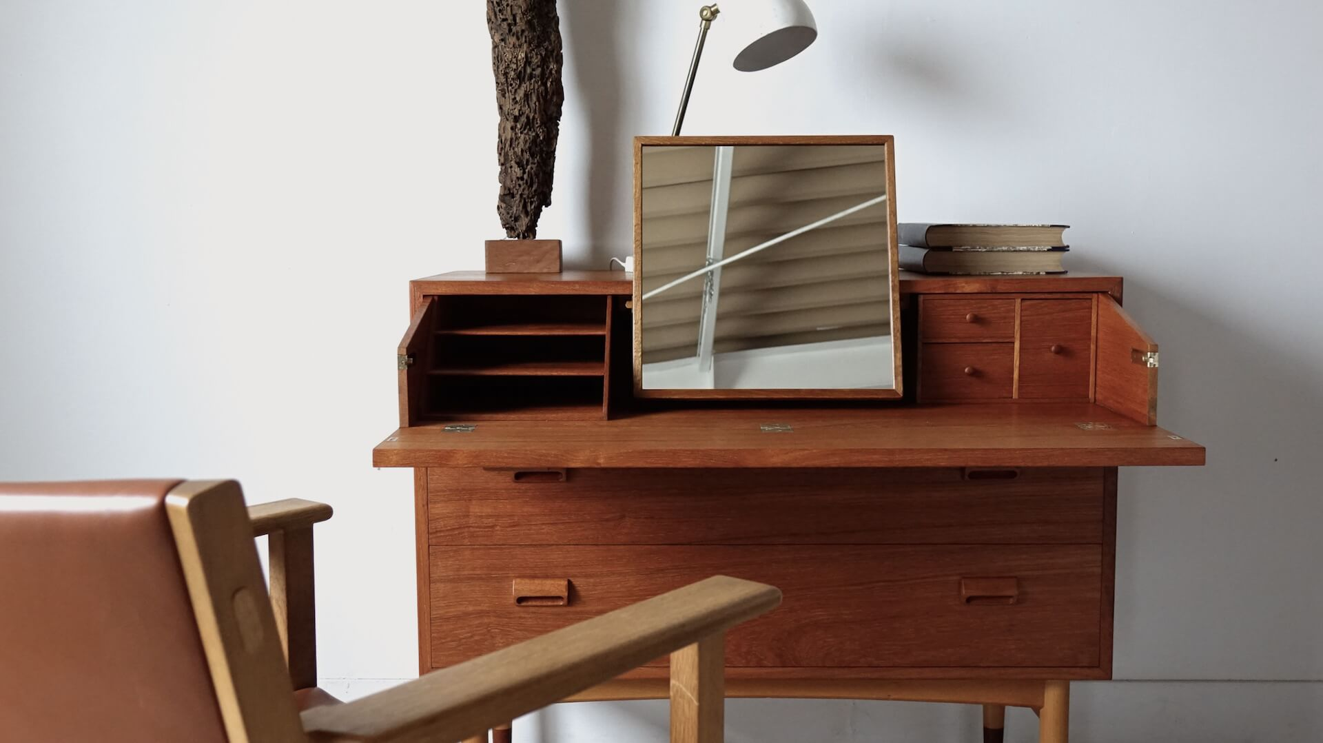 """Chest dresser """"model.133″ by Borge Mogensen for Soborg"""