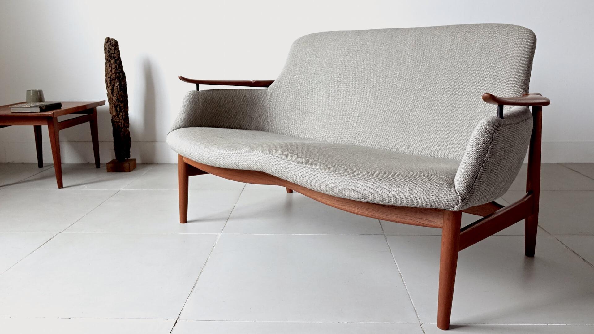 """""""NV53"""" Sofa by Finn Juhl for Niels Vodder"""