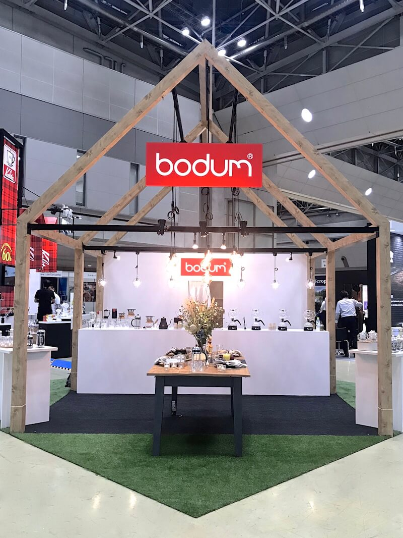 Bodum japan at SCAJ 2019 東京ビッグサイト