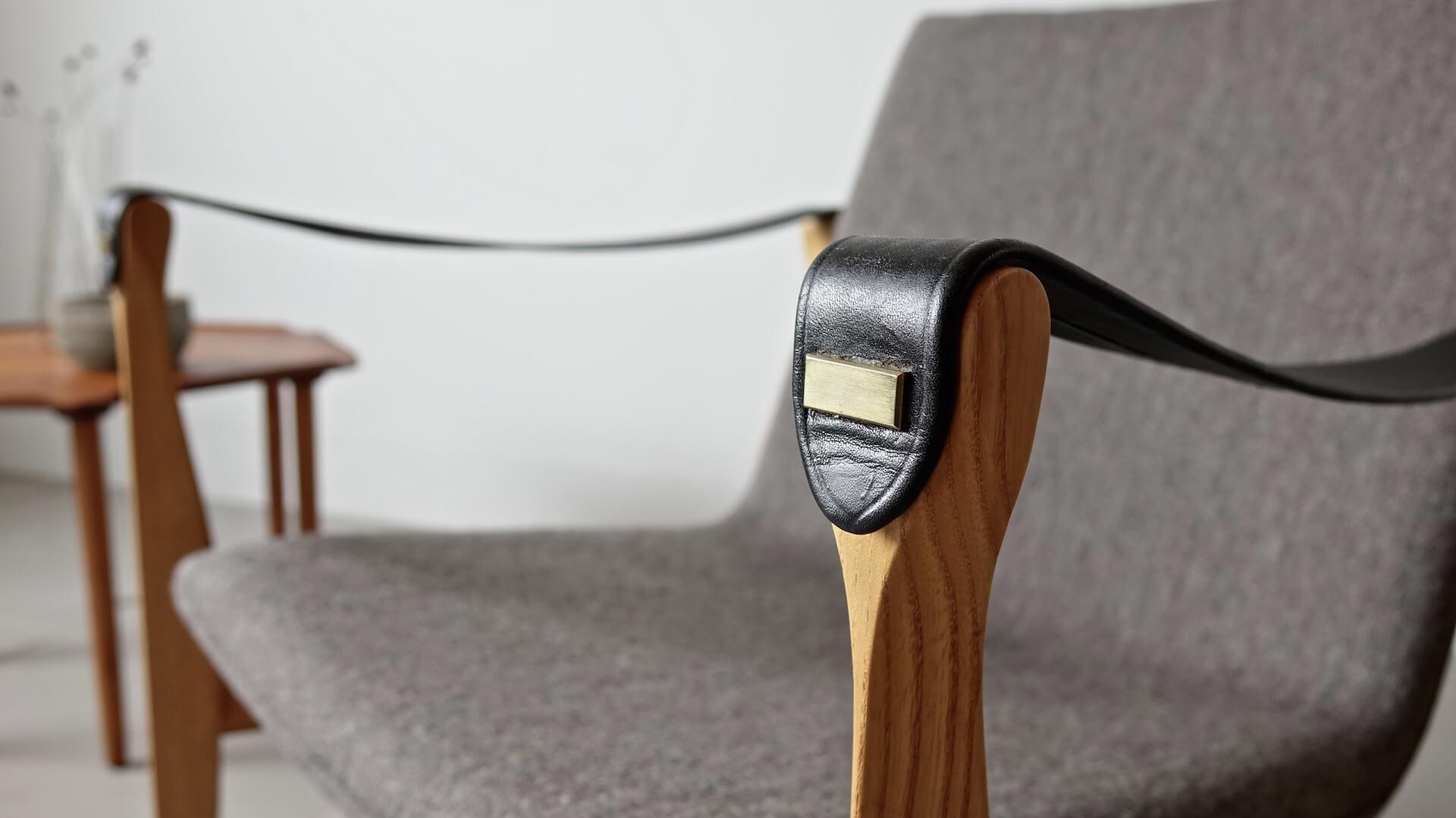 """""""Model 4305"""" Safari chair by Karen & Ebbe Clemmensen"""