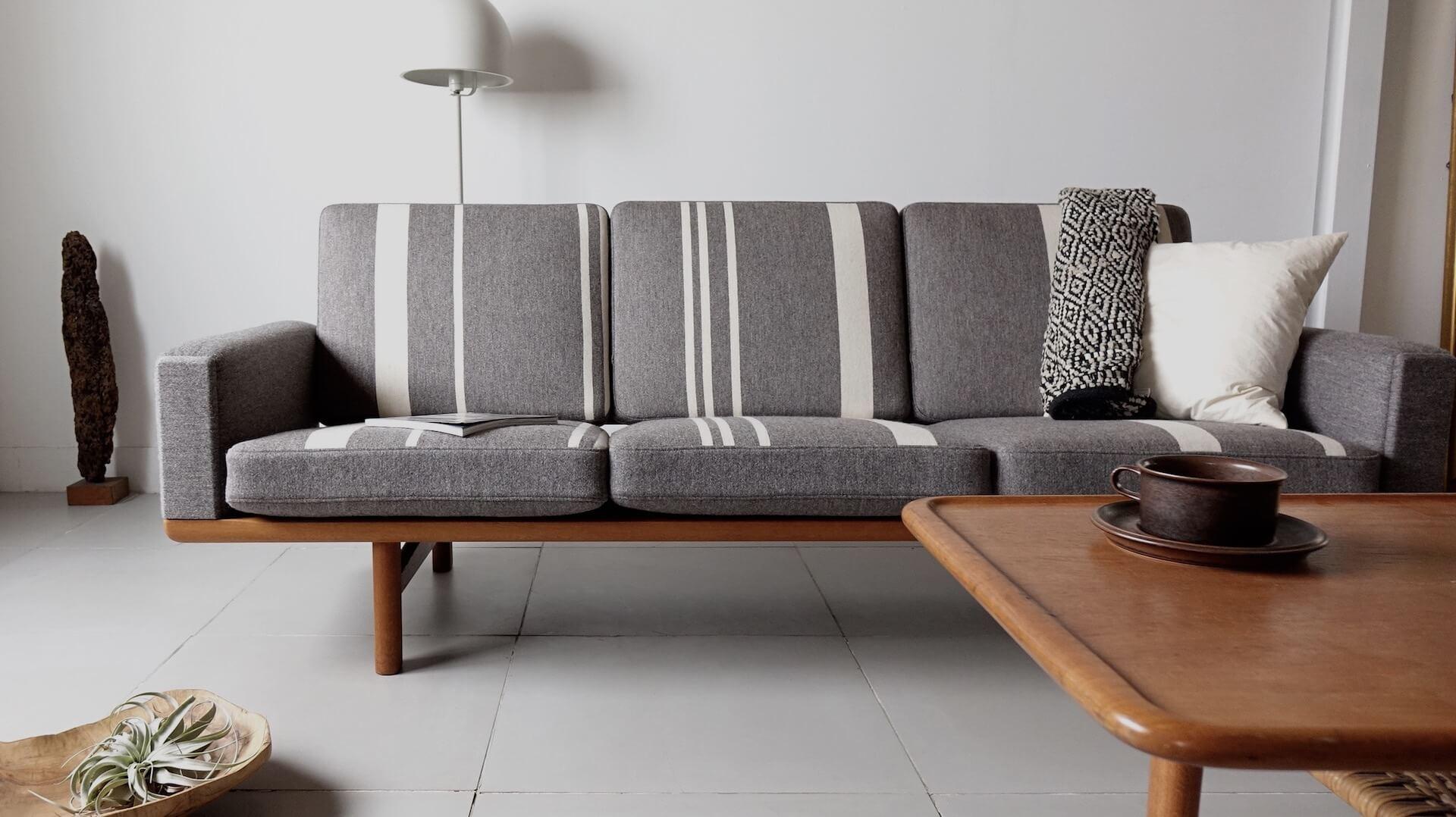 """GE236″ Sofa by Hans J. Wegner"