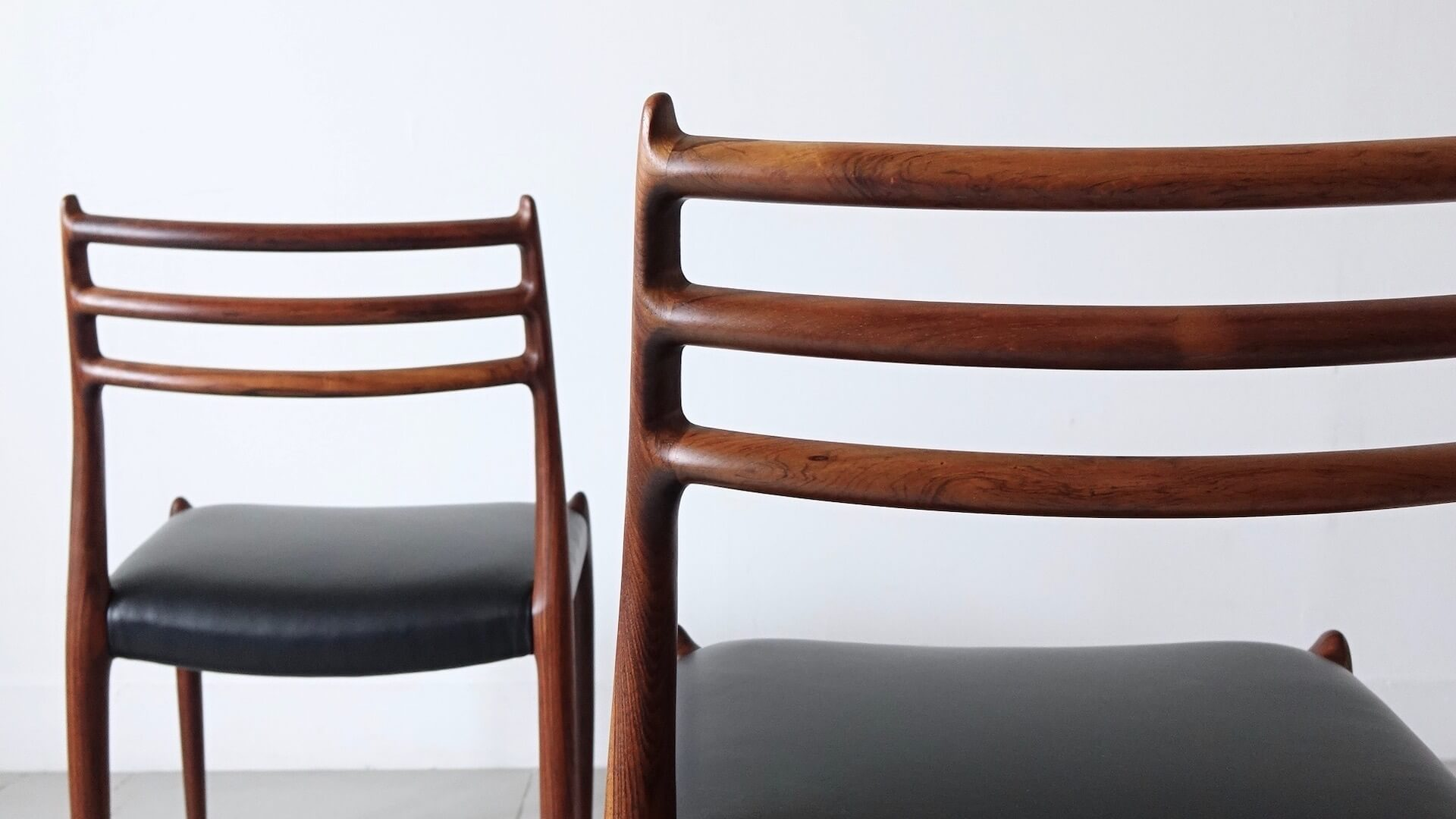 """""""Model.78"""" Dining chairs by Niels O.Moller for J.L. Moller"""